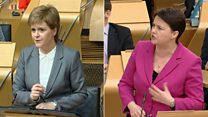 Holyrood clash over Brexit's economy