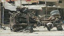 По убегающим из Фаллуджи боевикам нанесены авиаудары