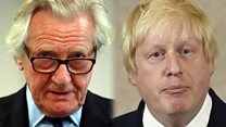 Heseltine: Boris has created 'greatest constitutional crisis in modern times'