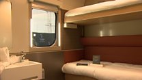 Sleeper carriage prototype is unveiled