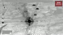 Vídeo mostra ataque aéreo contra comboio no Iraque que pode ter matado centenas do Estado Islâmico