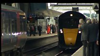 New intercity train takes to tracks