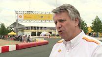 Shell boss reviews North Sea assets