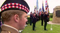 Somme's Scots soldiers remembered