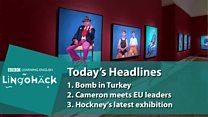 David Hockney apresenta nova série de retratos em Londres
