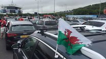 Cerys Matthews: 'Welsh fans are heartbroken' by huge Eurotunnel delays