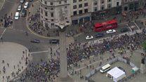 Milhares protestam em Londres contra a saída da Grã-Bretanha da União Europeia