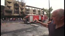 イラク・バグダッド自爆攻撃 市民守れない政府に怒り