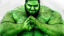 O 'Hulk' da vida real que quer lutar contra o Estado Islâmico na Síria