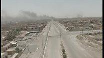 ゴーストタウンと化したファルージャ イラク軍がISから奪還