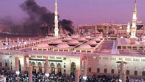 Suicide bombing in Medina