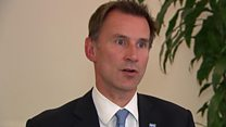 Hunt: 'Rapid decision needed'