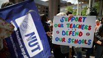 School pupils hit by teachers' strike