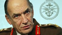 Army chief: We did as we were directed