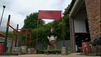 A man from Sheffield has been crowned England's strongest man