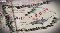 「指輪物語」の作者トールキンの地図 想像と現実が交差