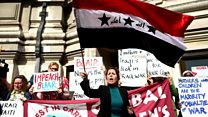 Iraqis living in Scotland 'distraught'