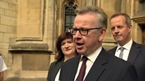 Winner 'will lead country well' - Gove