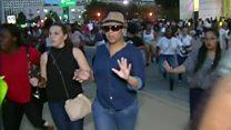 El pánico de la multitud cuando sonaron los disparos que mataron a 5 policías en una marcha en Dallas, Texas
