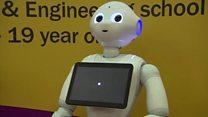 """Робот """"Пеппер"""" заменит учителей?"""
