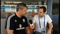 Osian Roberts ar ddiwedd antur Cymru yn Euro 2016