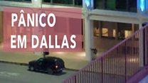 Pânico em Dallas: vídeo amador mostra franco-atirador disparando na direção de manifestantes