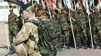 Female officers split on frontline roles