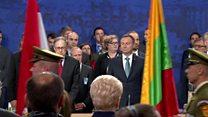 ТВ-новости: саммит НАТО – единая позиция, разные оценки