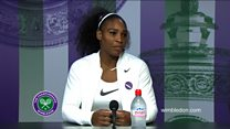 Serena Williams on Dallas
