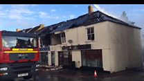 Businesses damaged after suspected explosion