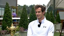Andy Murray's 'fun night after great day'