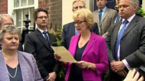 Leadsom ends Conservative leadership bid