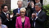 Andrea Leadsom abandons Tory leadership bid