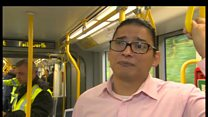 Tram abuse victim's hate crime campaign