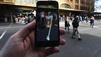 Sokaklarda Pokemon Go çılgınlığı