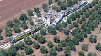 Twenty killed in Italy train collision