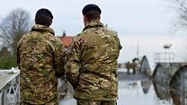 'Unacceptable' housing for forces