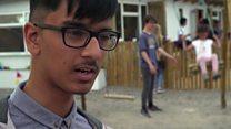 Школьная поездка в лагерь беженцев в Кале