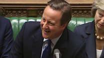 Tributes to Cameron at final PMQs