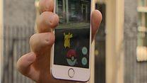 Pikachu pops up on Downing Street