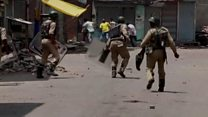 India troops accused of excessive force