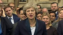 Theresa May to take over as Conservative leader