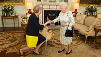 Bye David, hello Theresa - in 60 secs