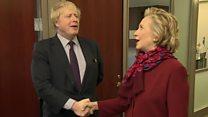 Gaffes and glory: Boris Johnson abroad