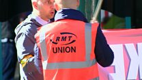 Rail strike 'won't disrupt' Open golf fans