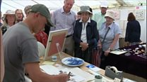Art in Action festival at Waterperry Gardens