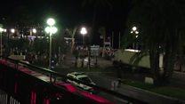 Vídeo mostra momento de ataque com caminhão em Nice