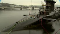 UK has 'no plans' to move Trident
