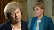 PM and FM's opposing views on indyref2