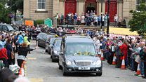 Crowds pay respects at Jo Cox funeral.